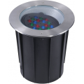 RGB LED Inground Landscape Lighting Fixtures with App/DMX Control