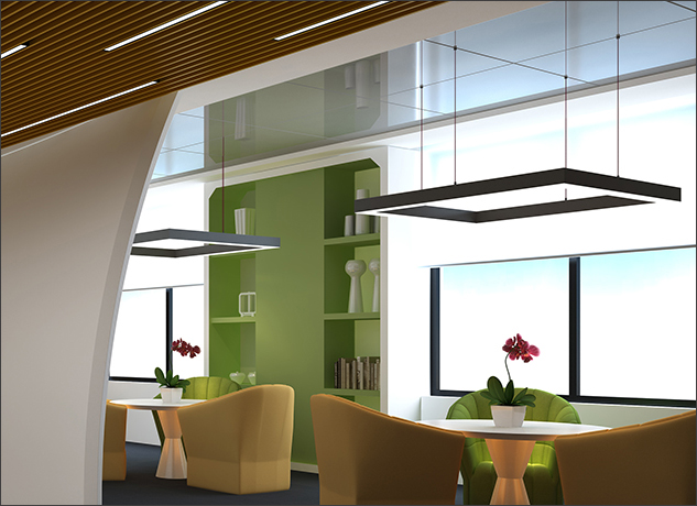 LED Wraparound Fixtures: Office Lighting Meets Modern Technology