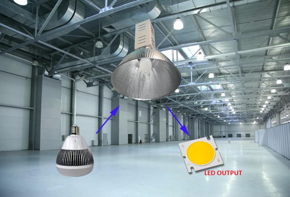 100w Industrial Led Retrofit Bulb Bombillas L 225 Mparas E40 E39