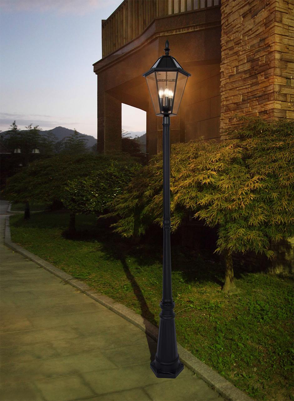 Solar Ed Post Top Light Fixture