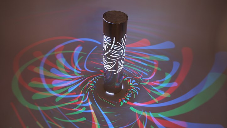 3d Laser Cut Led Bollard Lights Deliver Beautiful Patterns