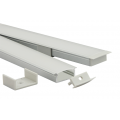 Shallow Recess Aluminum Profiles for Linear LED Tape Lighting