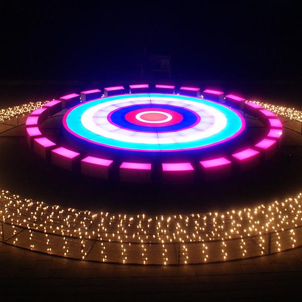 LED Pixel Modules for Illuminated Glass Floors, Ice Rinks ...
