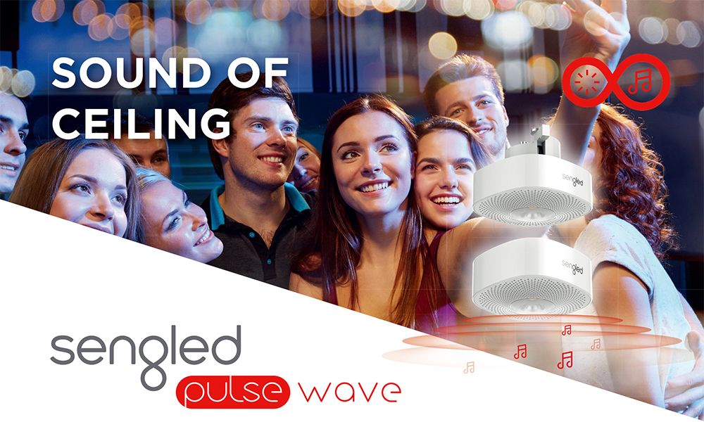 Sengled Pulse Wave Smart LED Downlight with Bluetooth Loudspeaker