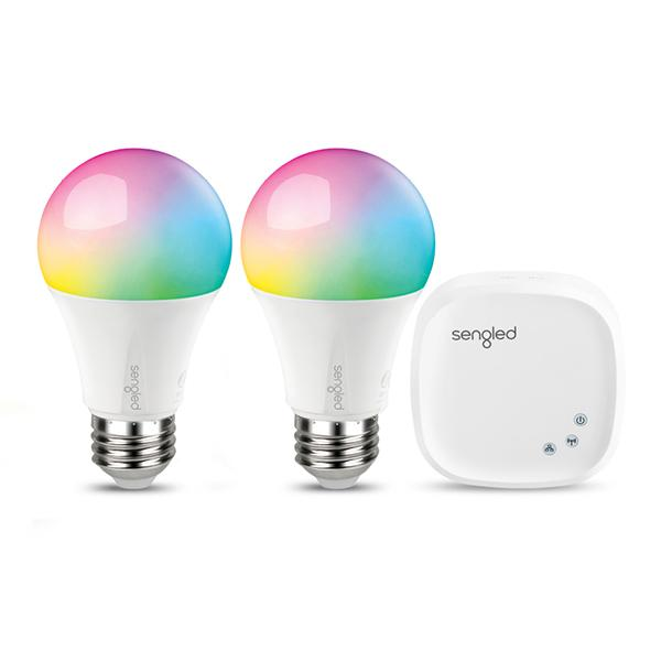 RGBW Multi Color Smart Light Bulb | Color Changing U0026 Color Temperature  Tunable LED Bulb