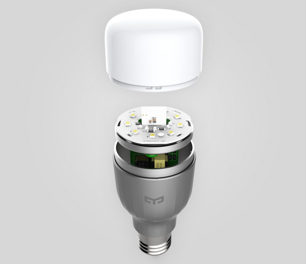 Yeelight RGBW Smart Light Bulb - Instant WiFi Pairing, No Hub Required