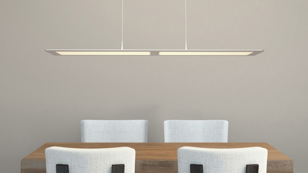 Ultra-thin Hanging Light Fixture