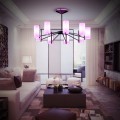 Elegant Modern Chandelier for Living Rooms, Dining Rooms, Bedrooms | Hanging LED Chandelier Lights