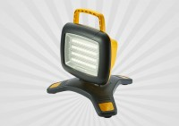 Rechargeable LED Work Light Offering Robust Portable Lighting to Indoor/Outdoor Worksites