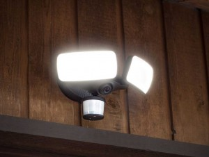 Maximus Smart Motion Sensor Light With Security Camera for Outdoor Video Surveillance