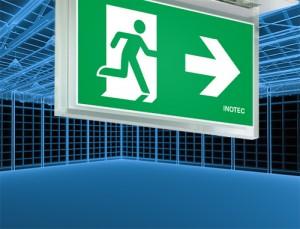 INOTEC Edge-lit LED Emergency Exit Signs Upgrade Safety, Aesthetics and Sustainability