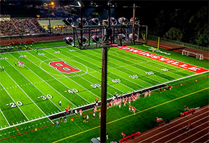 Smart LED Sports Lighting Systems Offer Future-proof Stadium, Gymnasium, Arena Lighting