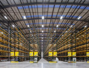 Commercial Warehouse Light Fixtures Equipped With DALI, Motion Sensor, Photocell Controls