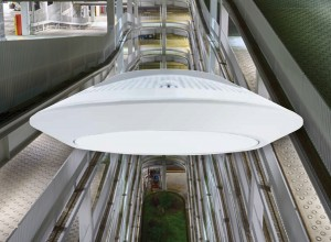 Kenall SenScape LED Parking Garage Lights Offer Superb Efficacy and Glare Control
