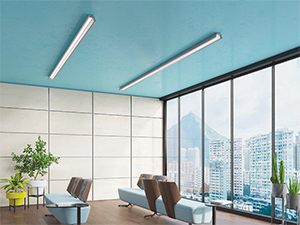 Axis Linear Office Light Fixtures Lead in Glare-free, Visually Comforting LED Lighting