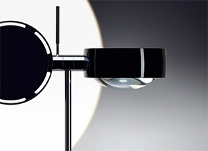 High Vision Designer LED Floor Lamp Reinforces Modern Architectural Aesthetics