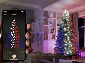 Twinkly Smart LED String Lights Enrich Christmas/Holiday Lighting Design With Intuitive App Control