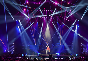 Claypaky LED Moving Head Spot Lights Deliver Punchy Beams for Event and Stage Lighting