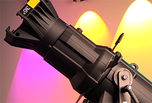 Chauvet LED Ellipsoidal Spotlights Harness the Power of Color for Awesome Theatrical Lighting