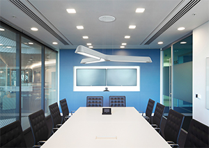 Fluxwerx LED Hanging Lights Define Modern Office Lighting With Upscale Style and Lighting Quality