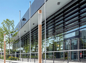 Trilux LED Light Column for Square, Park and Walkway Lighting Adds Glamour to Urban Landscapes