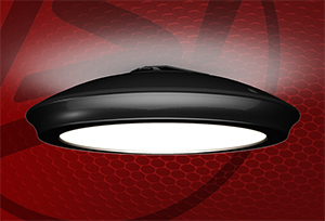 LSI Low Bay LED Luminaire Excels in Parking Garage, Canopy and Stairwell Lighting