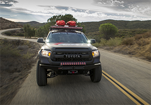 Rigid LED Light Bars with Adaptive Control and RGBW Accent Enhance Off-road Driving Experiences