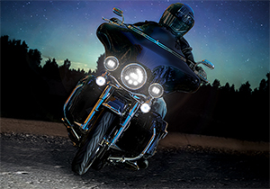 Adaptive LED Motorcycle Headlights Give Drivers a Safer and More Confident Ride