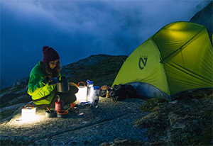 Ultra-compact Inflatable Solar Lantern with Mobile Phone Charger Offers Dependable Light and Power