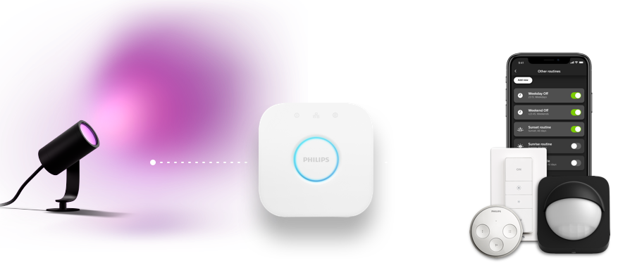 Philips Hue Smart Outdoor Lighting