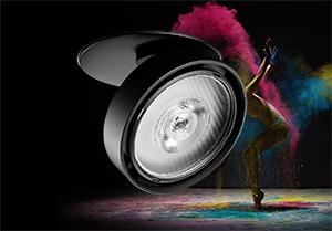 Ceiling Mount Adjustable LED Spotlights Deliver High CRI Accent Lighting in Museums, Shops, Hotels