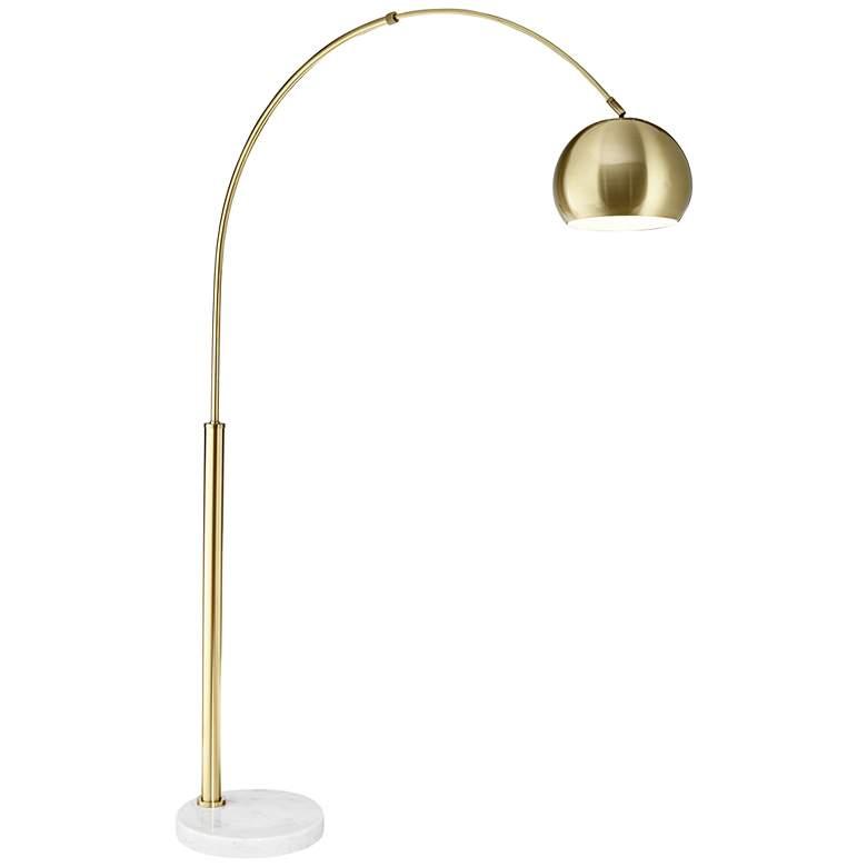 Arc floor lamps