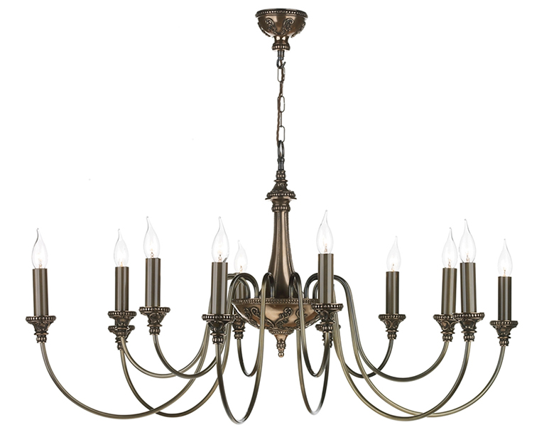 Candelabra or candle style chandeliers