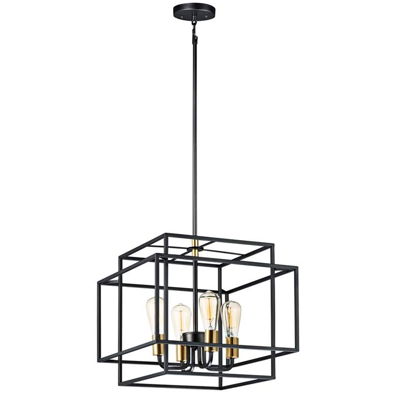 cage style chandelier