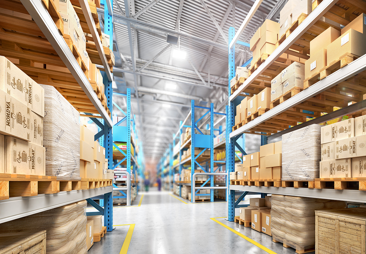 Warehouses and storage areas
